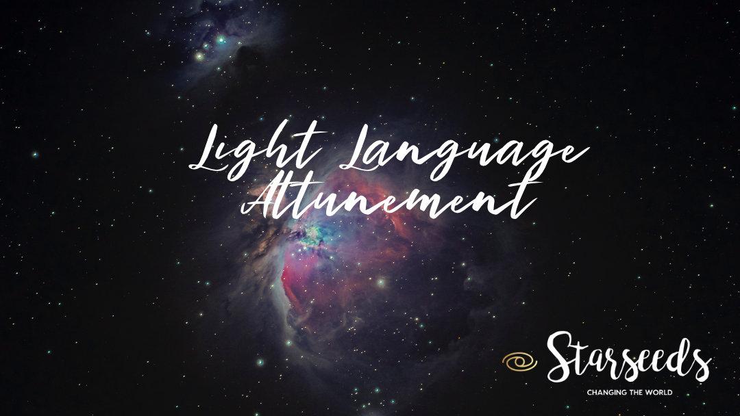 Light Language Attunement